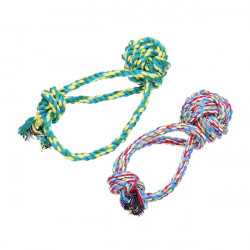 Cotton Rope Tug Ball Chew Play Toy for Pets Dogs Cats
