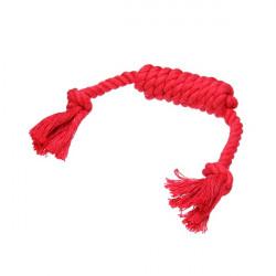 Baumwoll Seil mit Knoten Chew spielen Spielzeug für Haustiere Hunde Katzen