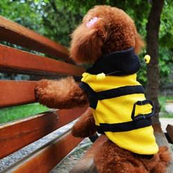 Klipp Bumble Bee Husdjur Hund Kläder Kläd Polar Ull