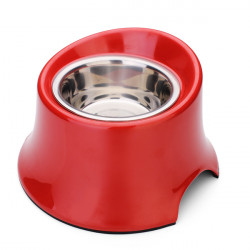 DB-07 Pet Bevel High Bowl Stainless Steel Dog Bowl
