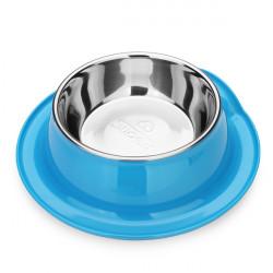 DB 20 Pet Bowl Edge Roll Edelstahl No Slip Hund Katze Feeder