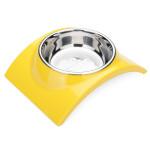 DB-34 Husdjur Skål Rainbow Rostfritt Stål Food Skål Hund Katt Feeder Husdjurstillbehör