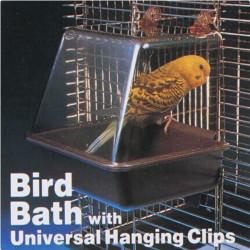 Deluxe Fågel Badkar Bad Box Bur för Bird