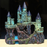 Fish Tank Resin Castle Ornament Simulation Aquarium Decoration Pet Supplies