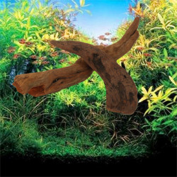 Fish Tank Small Driftwood Aquarium Landscaping Plant Tied Decoration