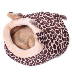 Giraffe Shape Pet House Kennel Dog Cat Pen