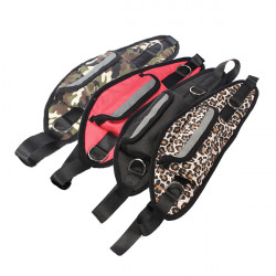 Handsfree Hundewiesen Taillengürtel Verstellbare Leine Seil + Big Bag