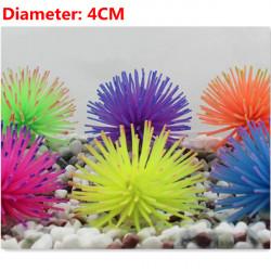 Hohe Figur imitiert Aquarium Ozean 4CM Coral Aquarium Dekoration