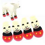 Little Bear Anti-Slip Waterproof Bottom Pet Socks Shoes Footwear Pet Supplies