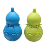 Molar Teeth Rubber Gourd Shaped Chew Toy for Pets Dogs Cats Pet Supplies