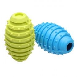 Kindtänder Gummi Grenade Med Bjällra Tugga Leksak för Husdjur Hundar Katter