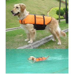 Orange Light Weight Hund Schwimmweste Schwimmsicherheitsweste
