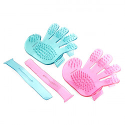 PVC Pet Massage Bad Five Finger Einstellbare Pinsel