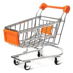 Parrot Toy Bird Supermarket Shopping Cart Kids Growth Box
