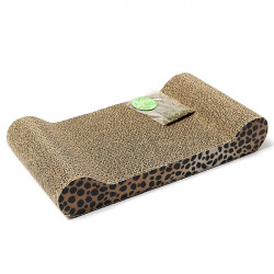 Pet Cat Kitten Scratching Box Board With Catnip Play Toy