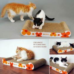 Haustier Katzen Kratzbrett Scratch Board Harden Cat Sofa For Fun Farbe zufällig gesendet