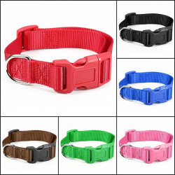 Pet Dog Cat Adjustable Belt Nylon Harness Pet Lead Collar