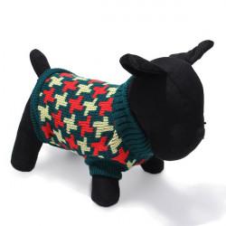 Husdjur Hund Katt Stickad Andningsbara Varm Tröja Ytterkläder Vinterjacka