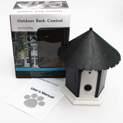 Pet Dog Outdoor Ultrasonic Bark Stop Deter Nuisance Control