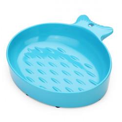 Husdjur Fisk Formad Kattmat Skål Dish
