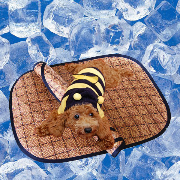 Pet Mat Summer Sleeping Mat Ice-Cool Rattan Bamboo Pet Supplies