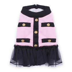 Pet Princess Dress Lady Style Tutu Cotton Warm Winter Dog Cat Skirt