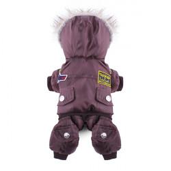 Husdjur USA Air Force Suit Overall Kappa Kläder Vinter