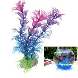 Plast Artificiell Akvarium Prydnad Växt Akvarium Dekoration