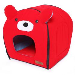 Red Bär mit Ohr Hund Katze Haus