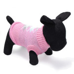 Rhombus Pet Dog Knitted Breathable Warm Sweater Winter Outwear Coat Pet Supplies