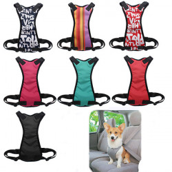 Small Size Adjustable Pet Vehicle Safety Chest Strap