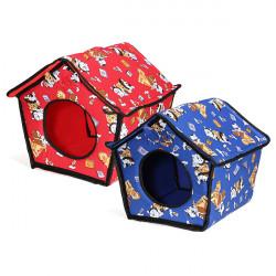 Weiche Haustier Hündchen Katze Innen slepping Haus Hundehütte warmes Tuch Bed Korb
