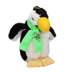 Weicher Plüsch quietschendes Pinguin Art Spielzeug für Haustiere Hunde Katzen