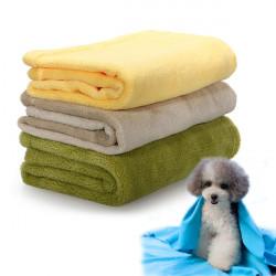 Reise Fleece weiche warme Hundedecke Picknickdecke Kissen