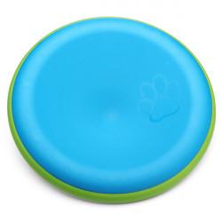 Två Färger Träning Frisbee Flying Disc Leksak för Husdjur Hundar