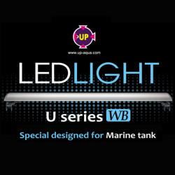 UP PRO-LED-U-WB-30 Aquarium Light for Marine Tank 90CM