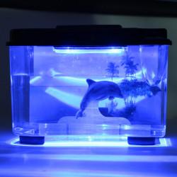 WW3D1 3D Serenity Akvarium LED Black
