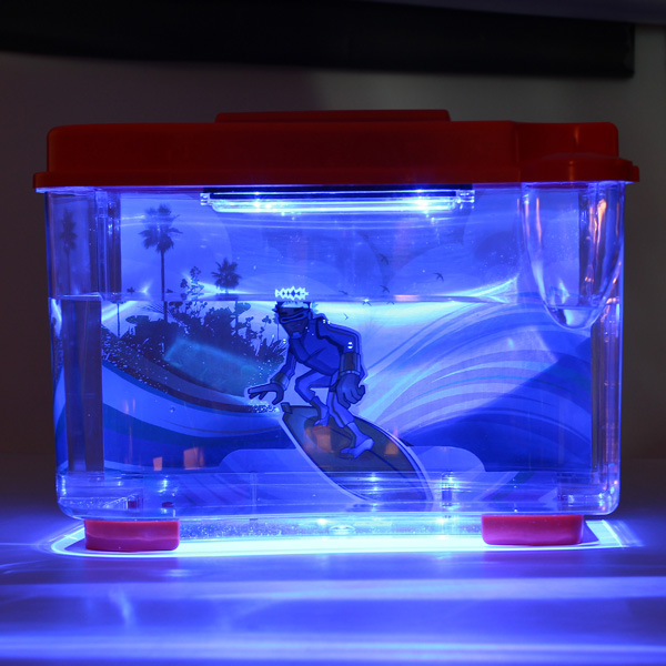 WW3D2 3D Serenity Akvarium LED Orange Husdjurstillbehör