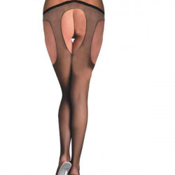 Sexy Lady Open Soft Tights Fashion Elastic Stockings