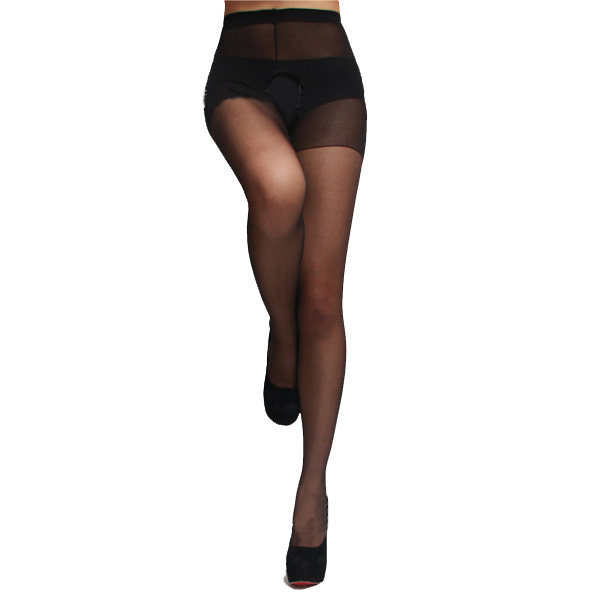 Sexy Women Open Crotch Thin Stockings Tights Stockings & Garters