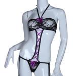 Kvinder Sexy Lace Bowknot Nattøj Costume Intimate Lingerie Sexet Lingeri