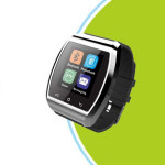 "1.4"" Touch Screen Pedometer Bluetooth for Android Smart Phone Watch Gym & Hiking Watch"