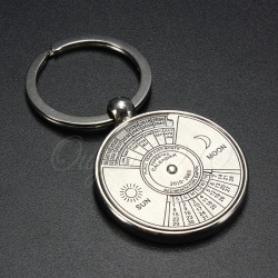 2007 Nach 2056 Jahre Kalender Metall Schlüsselanhänger Personalisierte Geschenke Schlüsselanhänger