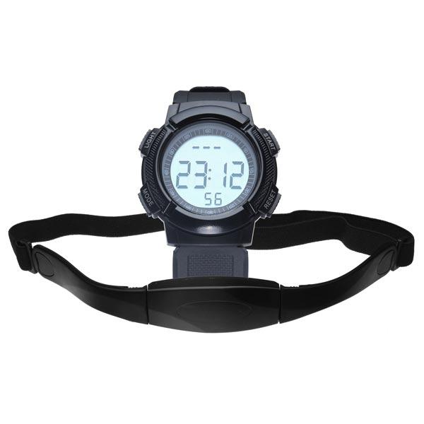 CS-008 Gym Heart Rate Sport Pedometer Hiking Men Women Wrist Watch Gym & Hiking Watch