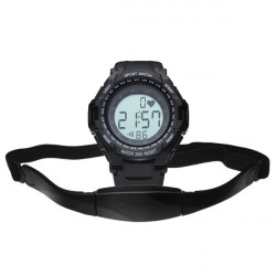 CS-009 Gym Heart Rate Sport Pedometer Hiking Men Women Wrist Watch