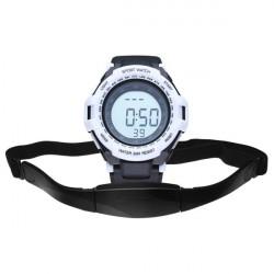 CS-009 Gym Heart Rate Sport Pedometer Hiking Men Women Wrist Watch