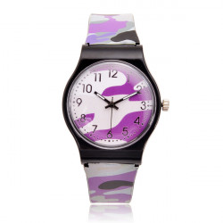 Camouflage Military Five Colors Live Waterproof Quartz Watch