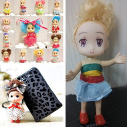Multi Pattern Lovely Confused Doll Accessories Phone Ornament