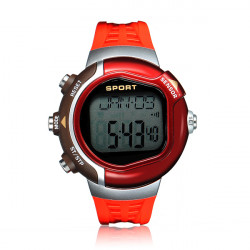 Pulse Heart Rate Monitor Calorie Sport Digital Men Women Watch