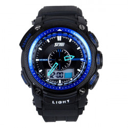 SKMEI 0910 Luminous Wasserdicht Analog Digital Quarz Sport Uhr